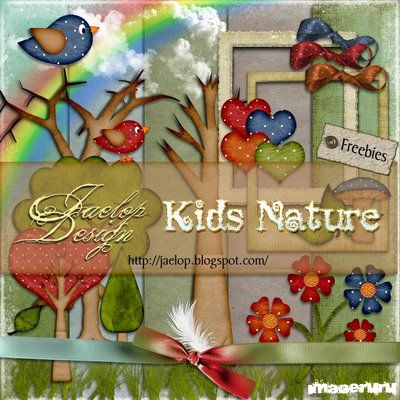 Скрап Kids Nature