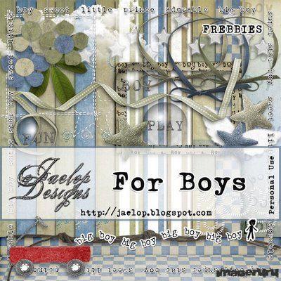 Скрап For Boys
