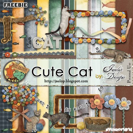 Скрап Cute Cats