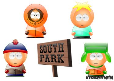 Иконки для фанатов Южного парка