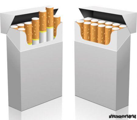 Cигаретные пачки без изображений