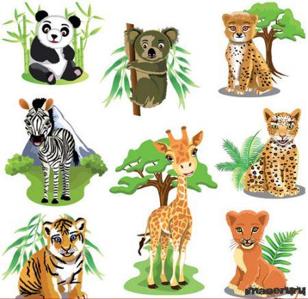 Мультяшные животные