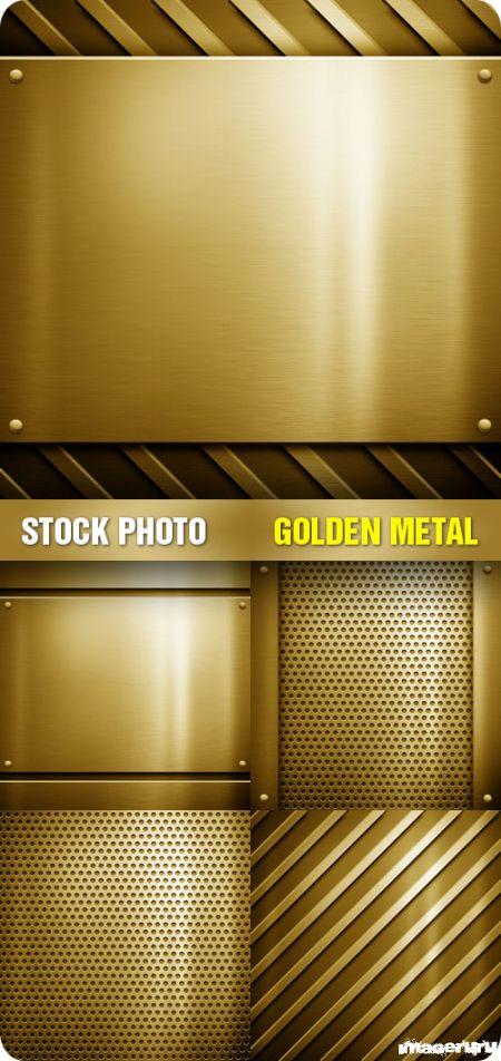 Текстуры из золота
