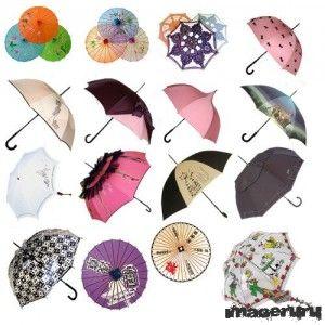 Зонтики в PSD