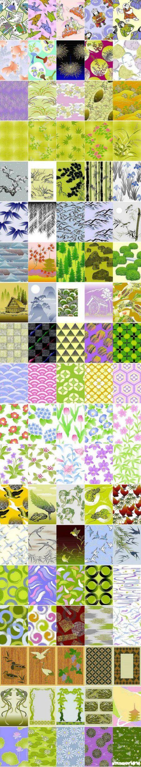 100 векторных шаблонов для дизайна ч. 5