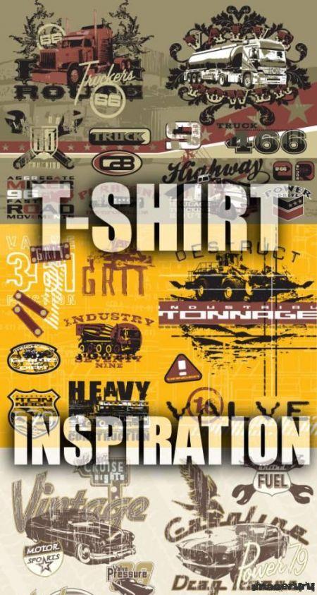 Новые логотипы для футболок 46 шт.