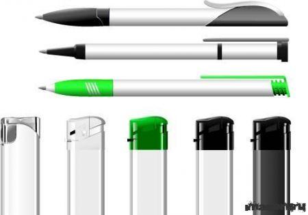 Ручки и зажигалки