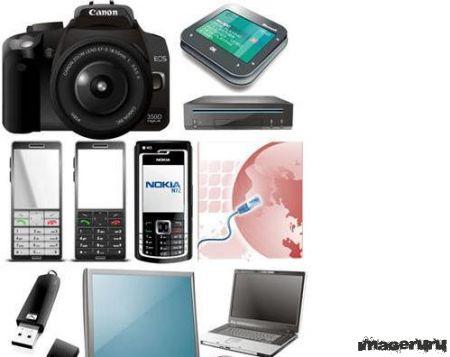 Электроника - фотоаппараты, ноутбуки, телефоны и прочее