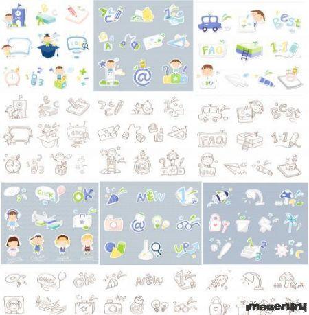 Элементы на детскую тему