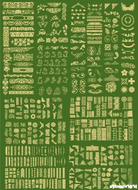 Декоративные элементы для дизайна