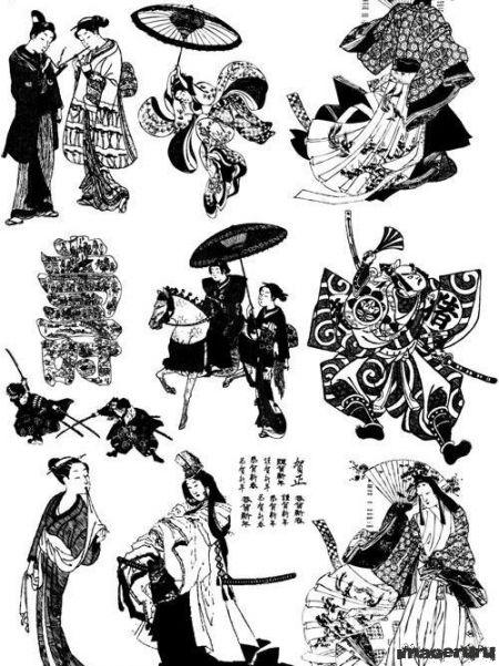 Самураи и гейши