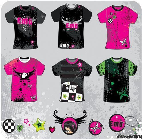 Эмо стиль - футболки
