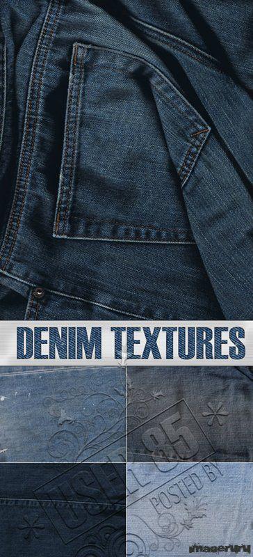Denim. Джинсовые текстуры
