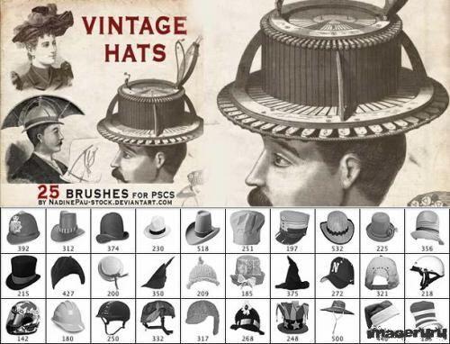 Винтажные шляпы