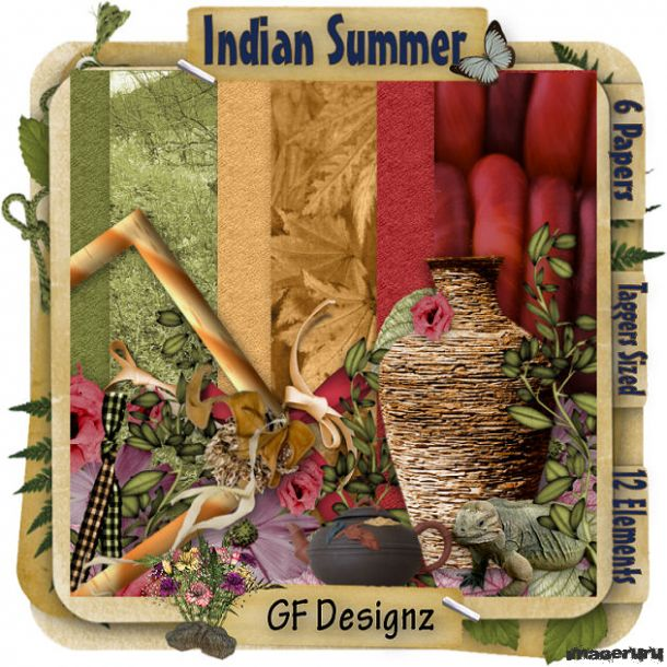 Скрап Indian Summer