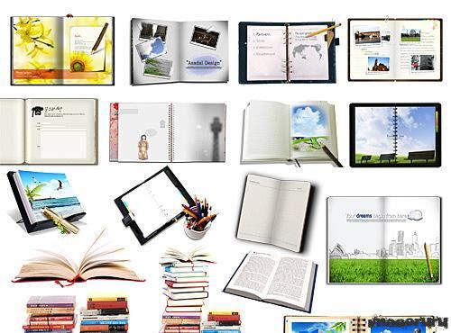 Книги, тетради, блокноты