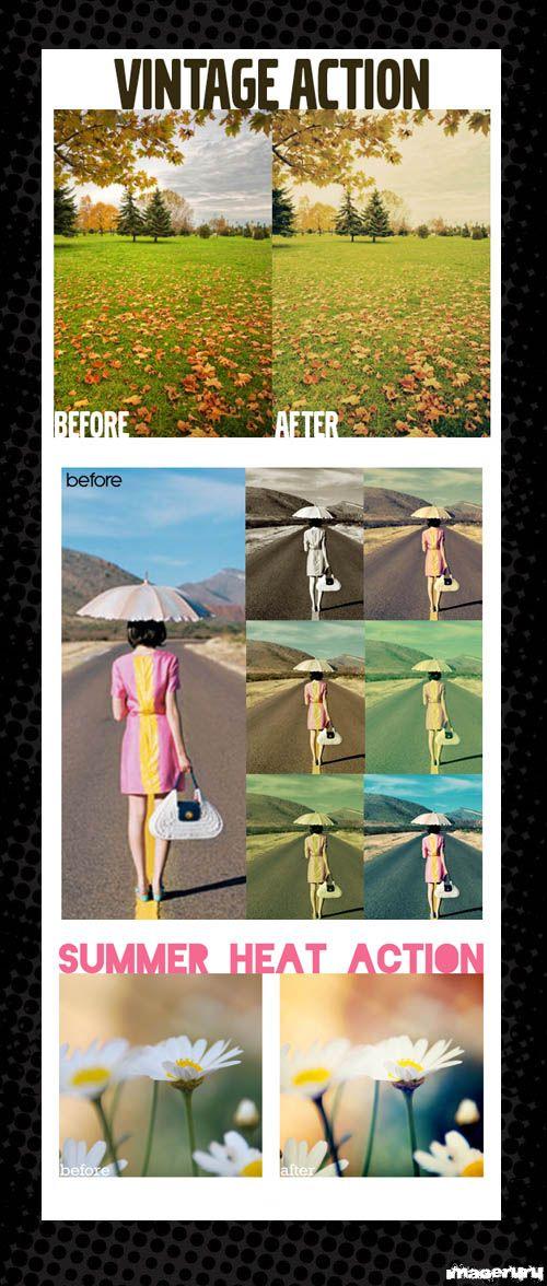 3 эффекта для состаривания фото