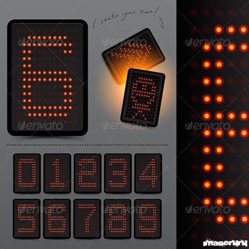 Цифровое светодиодное табло