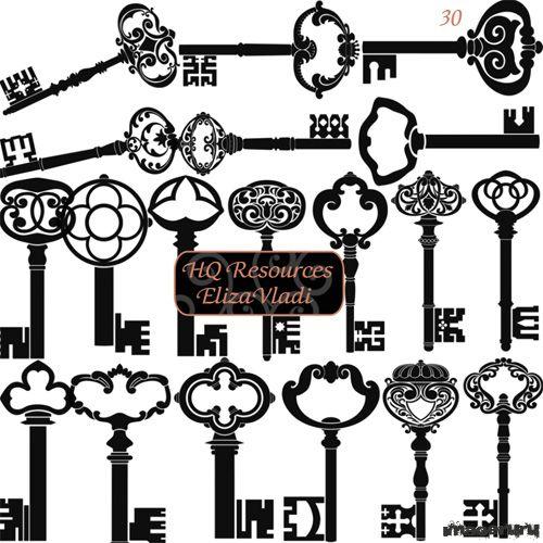 Ключи от старинных замков