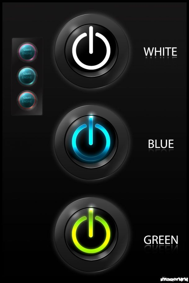 Кнопки вкл/выкл