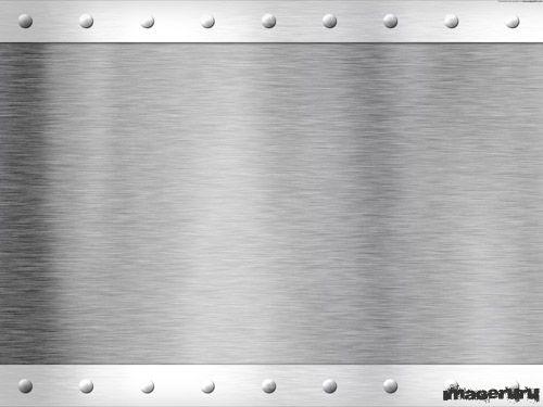 Металлический лист с заклёпками