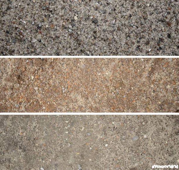 Серый и коричневый песок