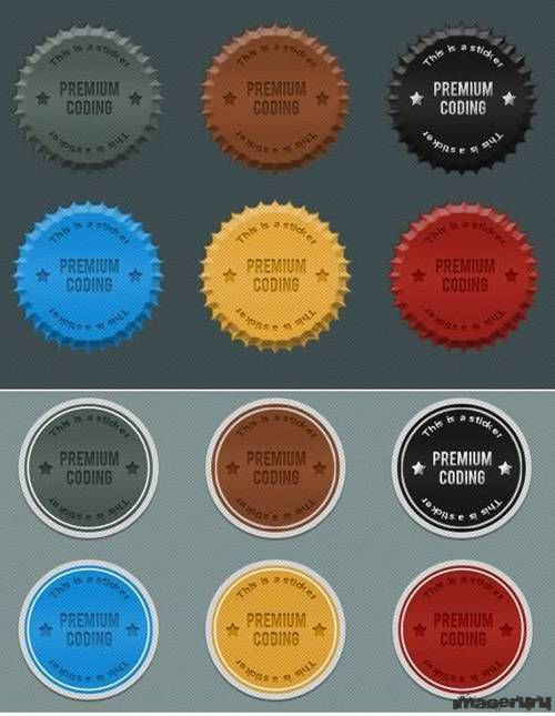 Стикеры для веб дизайна