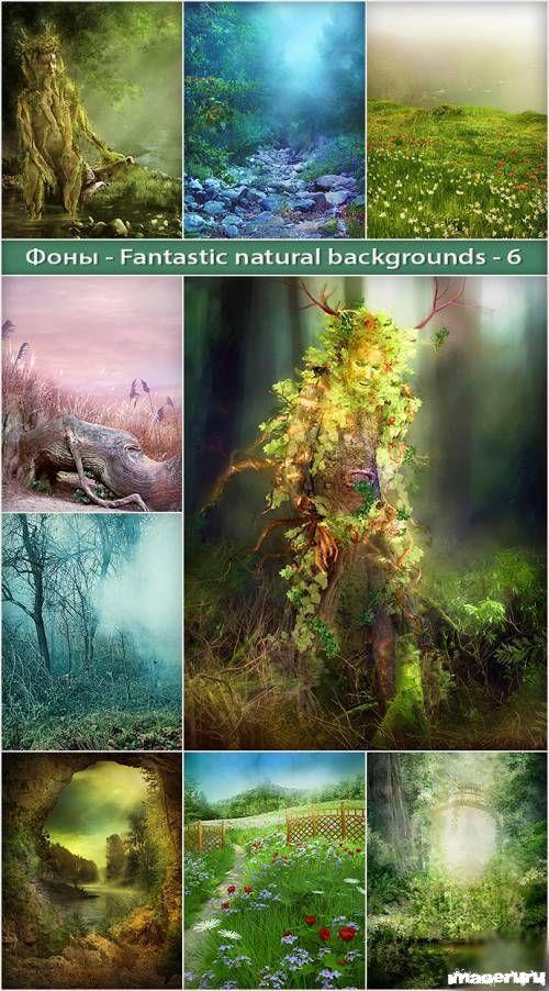 Красивые природные фоны ч.6
