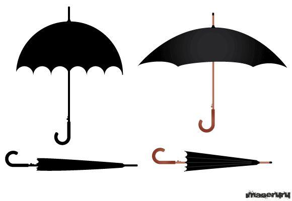 Зонт в векторе