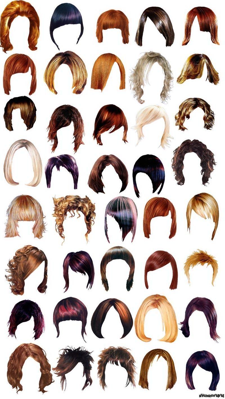 Как вставить причёски в фотошоп