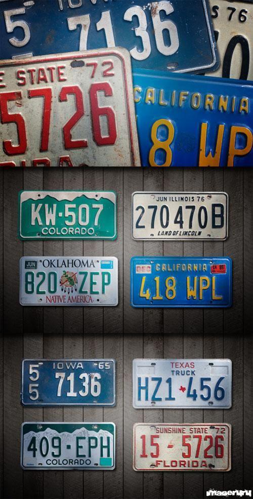 Американские автомобильные номера