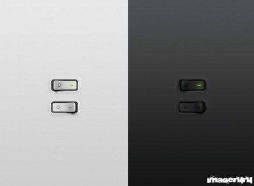 Кнопка выключателя