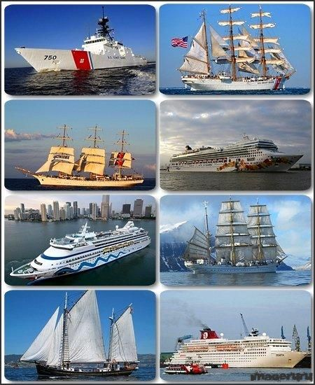 Морские корабли и парусники