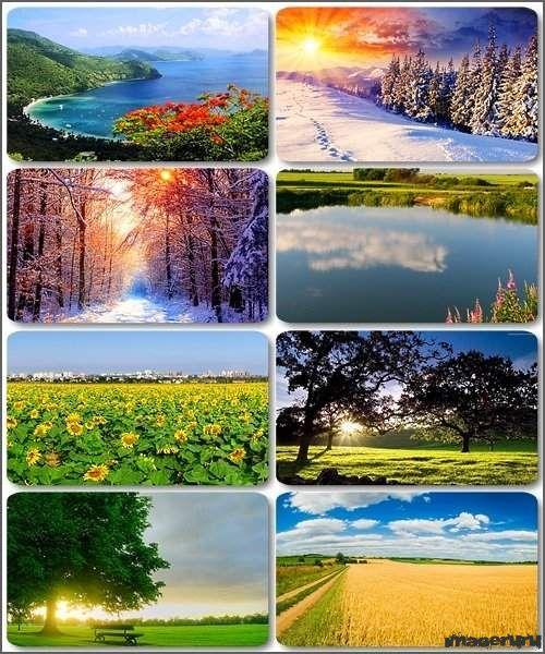 Красивые природные фоны ч.19
