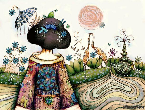 Чудесные работы Karin Taylor