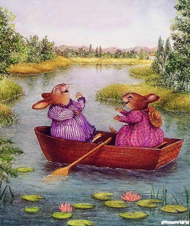 Сказочный и уютный мир. Susan Wheeler