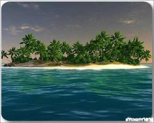Райский остров - экранная заставка