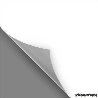 Шаблон листа с загнутым углом