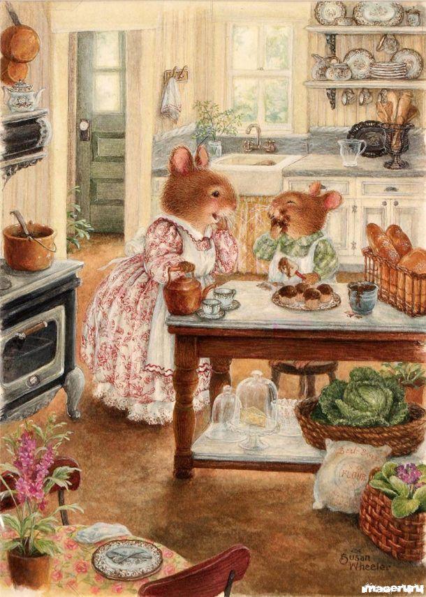 Из жизни зайцев... Susan Wheeler