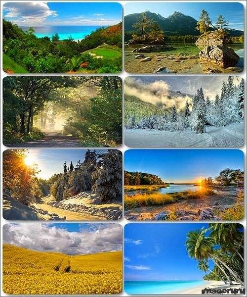 Потрясающие пейзажи природы 8