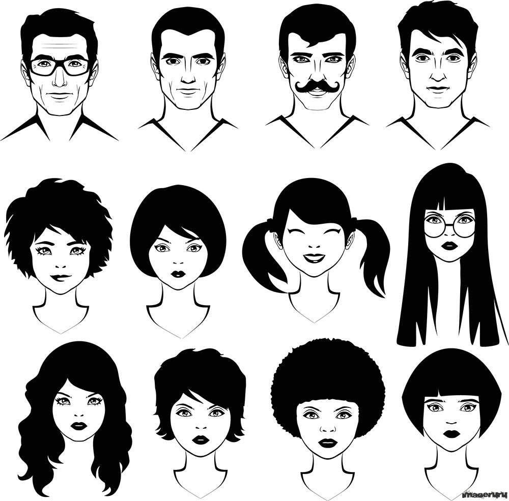 картинки схематичные человечки