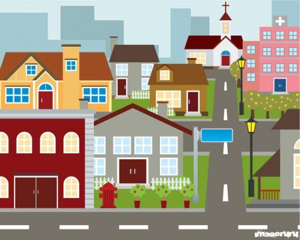 Дома и городские строения