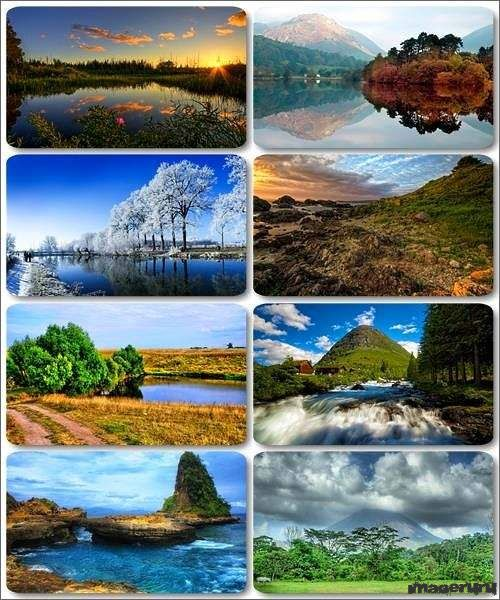 Потрясающие пейзажи природы 11