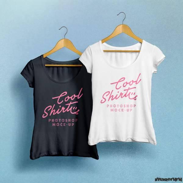 Шаблон женской футболки