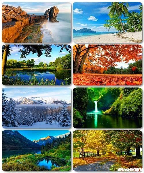 Потрясающие пейзажи природы 16