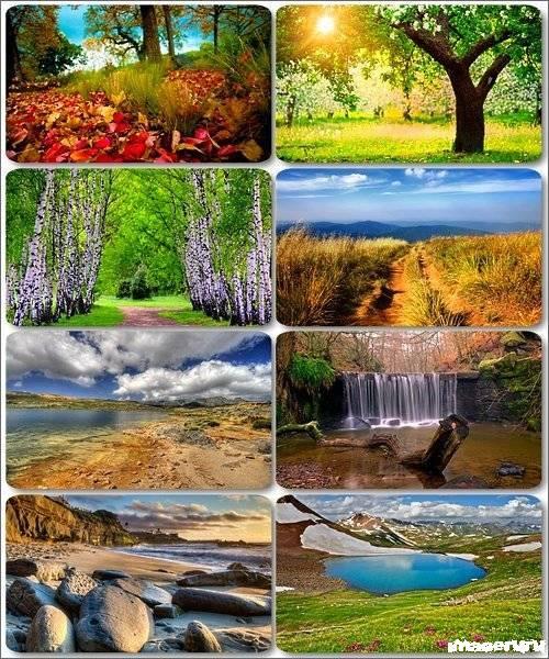 Потрясающие пейзажи природы 21
