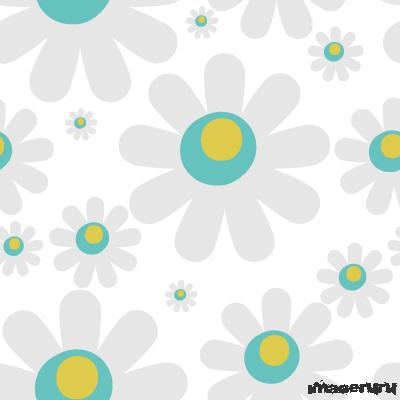 Цветочный шаблон