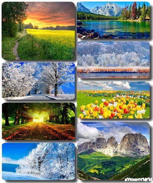 Потрясающие пейзажи природы 25