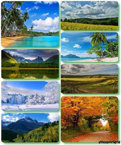 Потрясающие пейзажи природы 26