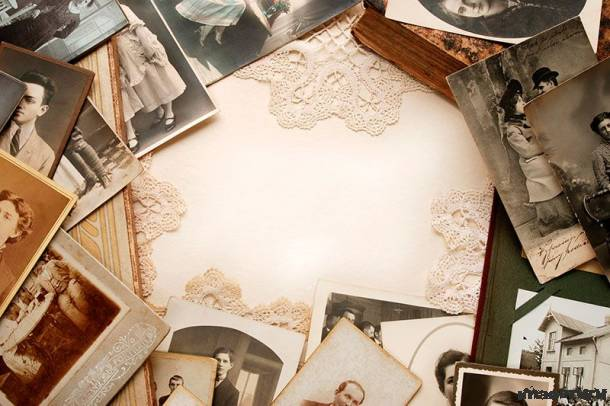 Бэкграунд со старыми фотографиями
